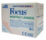 Цветные линзы Focus Monthly Soft Colors