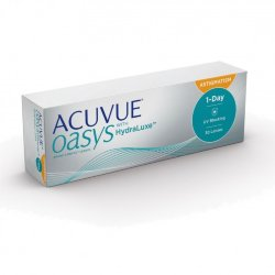 Acuvue Oasys 1 Day with HydraLuxe for Astigmatism (30 линз)